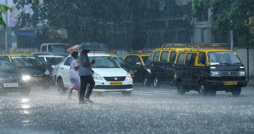 Heavy rainfall in Mumbai city around july 4
