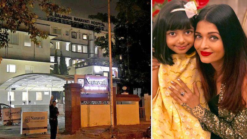 Aishwarya Rai Bachchan, daughter Aaradhya admitted to Nanavati hospital over Covid-19 concerns