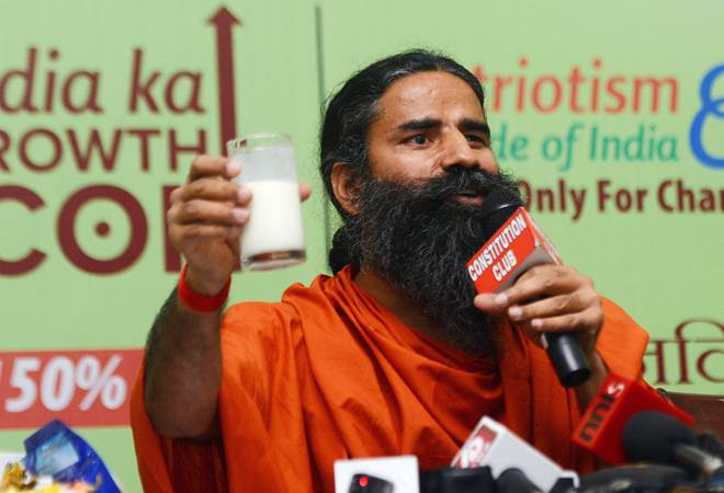 Baba Ramdev on Coronil Kit