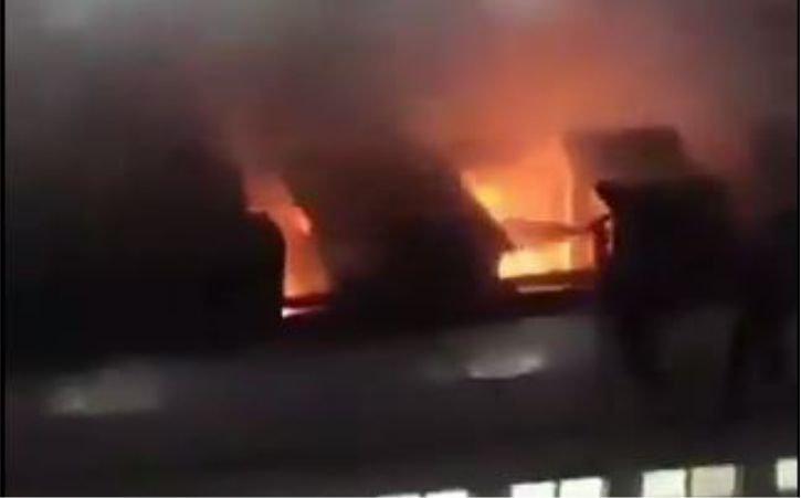 मुंबई के रिलायंस फाउंडेशन अस्पताल में लगी आग