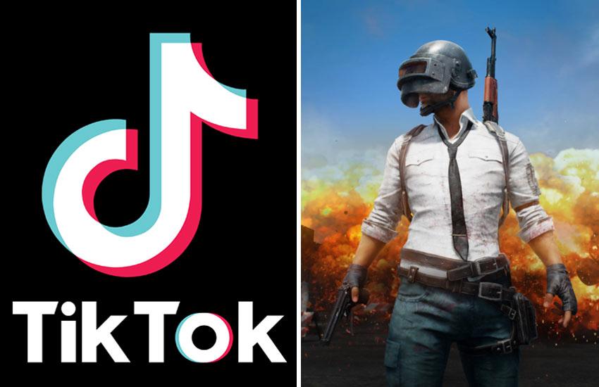 भारत की चीन पर डिजिटल स्ट्राइक, TikTok-PUBG समेत 59 ऐप पर लगा बैन