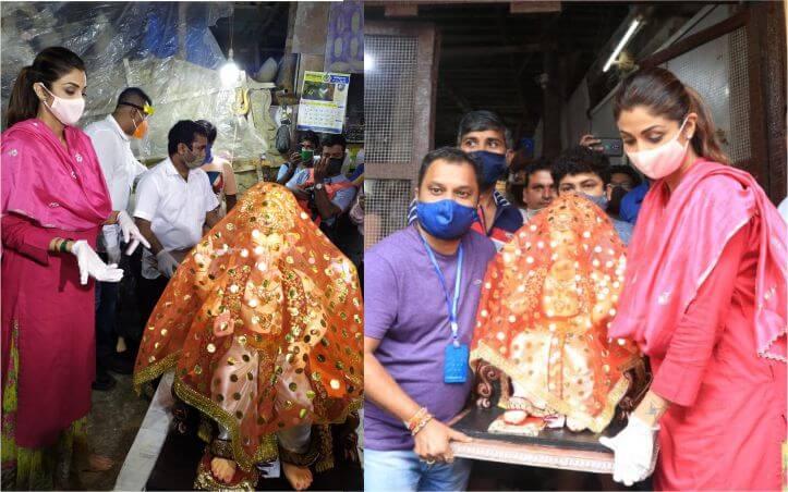 मुंबई में आज से ही गणेशोत्सव की धूम शुरू, शिल्पा शेट्टी के घर पहुंचे गणपति बप्पा