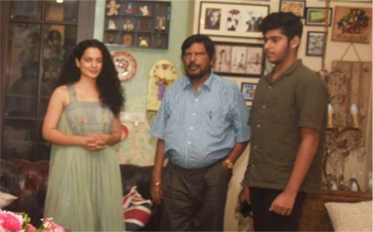 कंगना पॉलिटिक्स में आना चाहती हैं तो भाजपा और RPI उनका स्वागत करेगी: आठवले