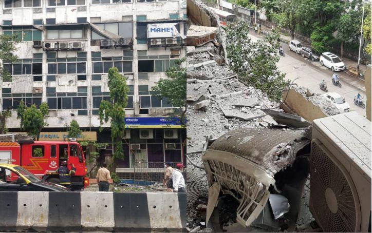 Cylinder Blast in Worli: मुंबई में पुराने पासपोर्ट भवन में सिलेंडर विस्फोट; एक महिला घायल