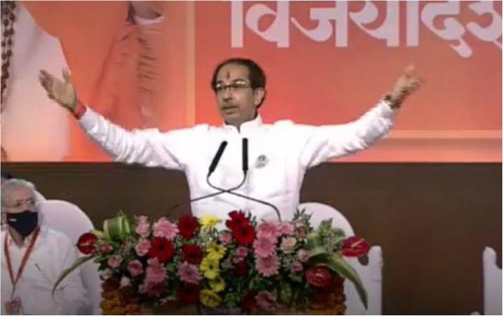 उद्धव ठाकरे ने दी भाजपा को चुनौती, कहा - हिम्मत है तो मेरी सरकार गिराकर दिखाओ