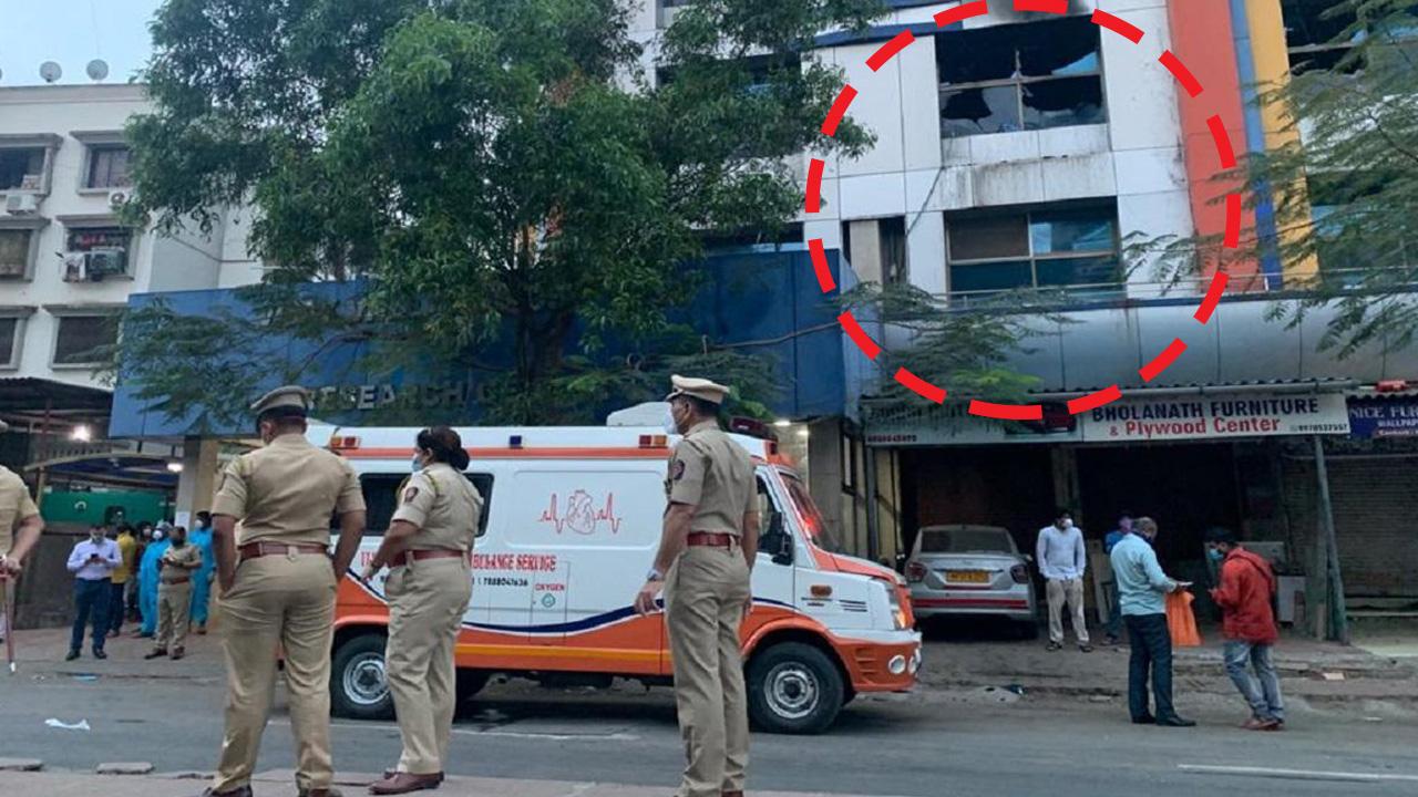 विरार आग की घटना को लेकर कांग्रेस नेता ने MVA सरकार पर साधा निशाना