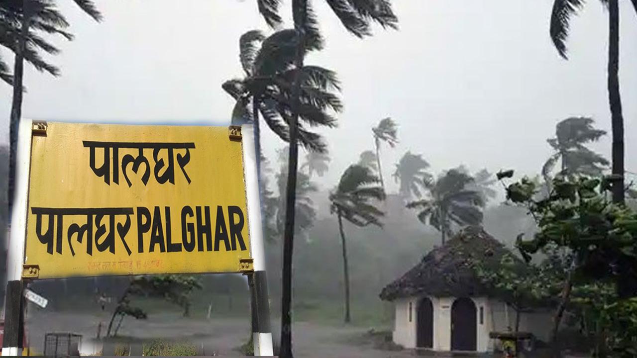 समुद्री तूफान 'ताऊते' ने की मुम्बई से सटे पालघर जिले के 900 गांवों की बिजली गुल!