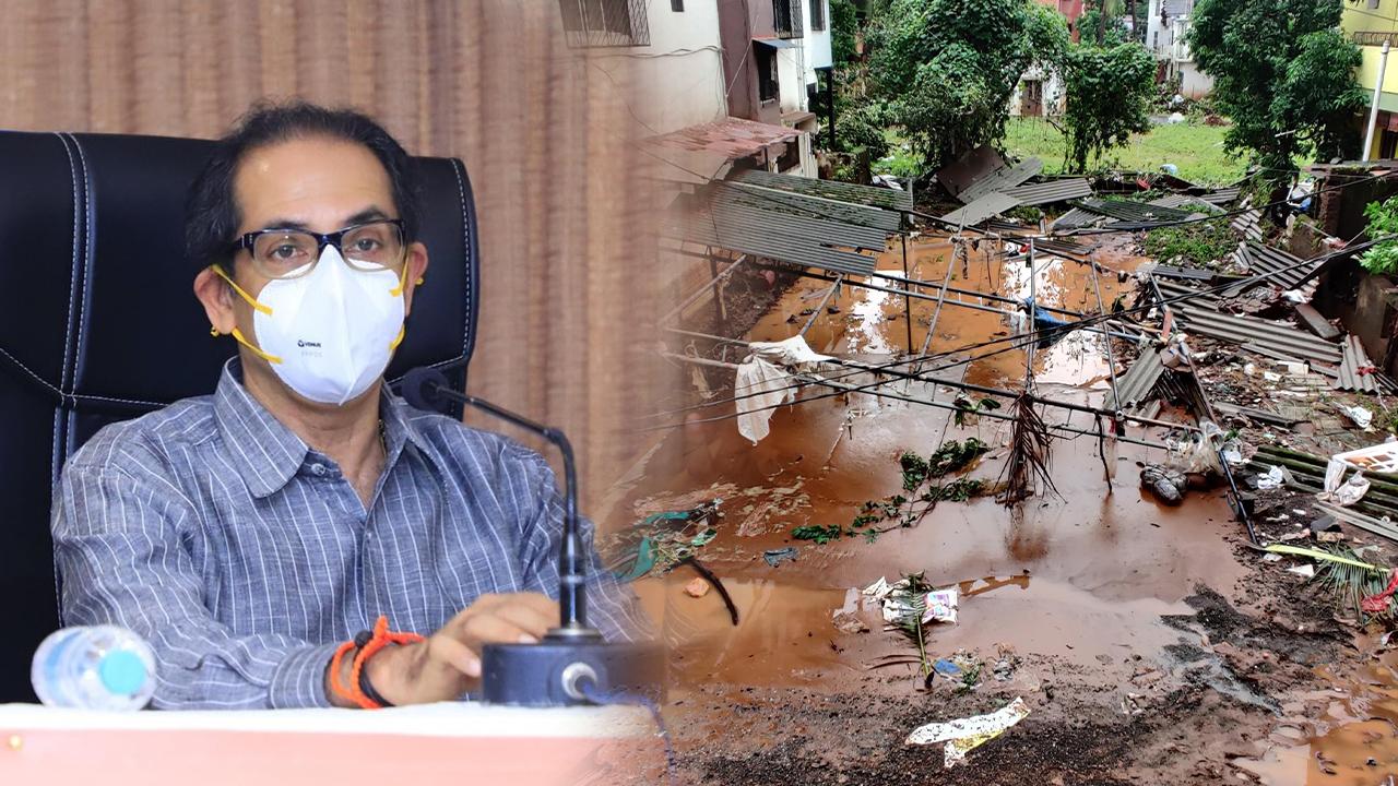 महाराष्ट्र में बाढ़ ग्रस्तों की मदद के लिए ठाकरे सरकार का बड़ा एलान, जानिए क्या दिया ?
