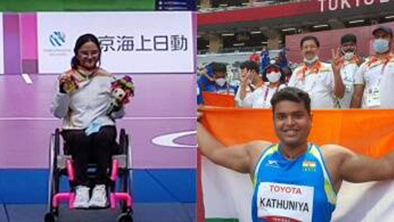 टोक्यो पैरालम्पिक में भारत के 7 मेडल