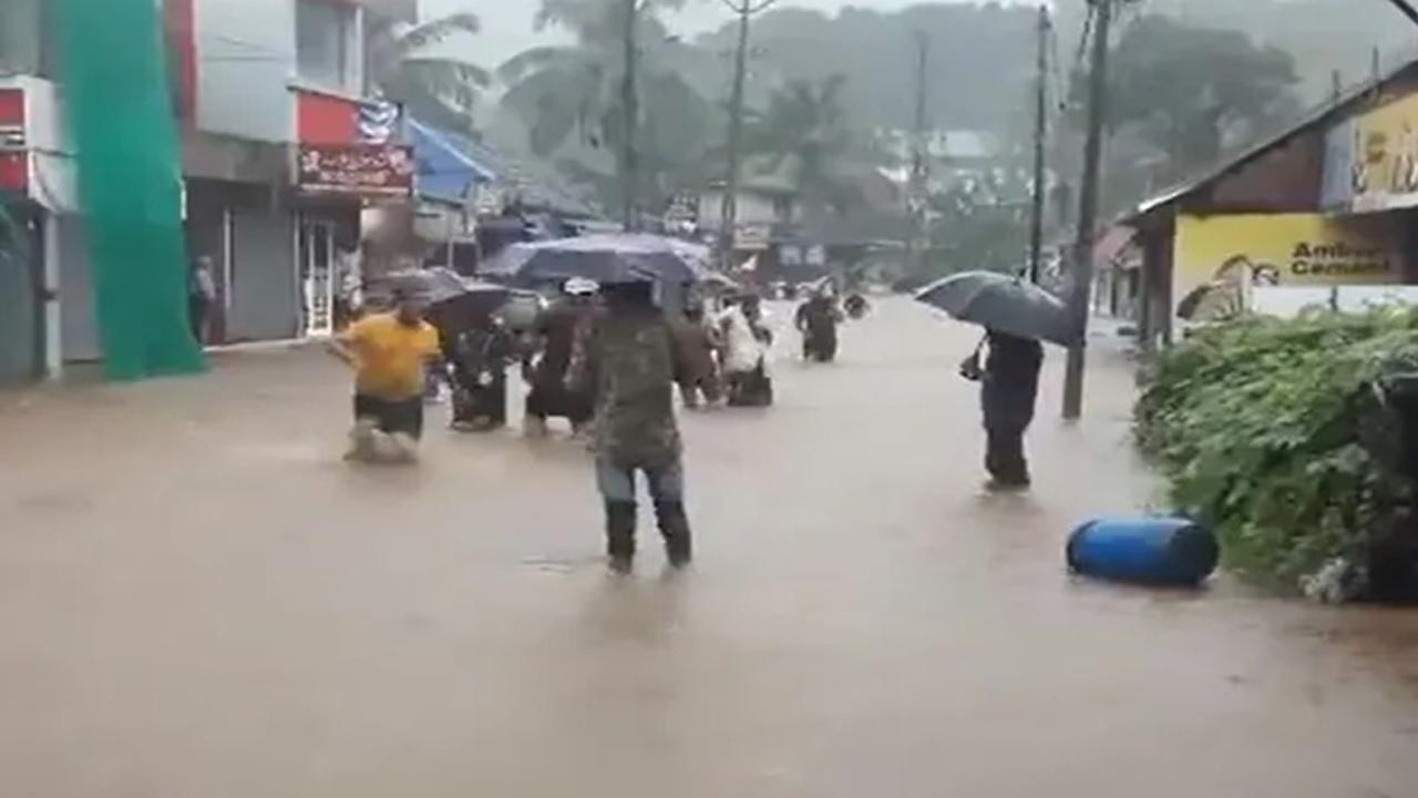केरल में छाया भारी बारिश का कोहराम, अब तक 11 लोगों की हुई मौत