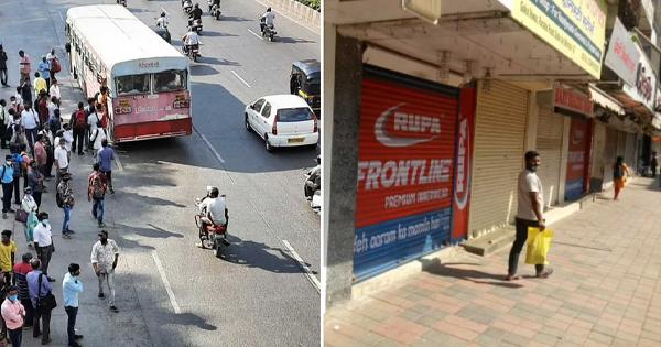 दादर मार्केट पूरे तरीक़े से बंद, चप्पे-चप्पे पर पुलिस का बंदोबस्त