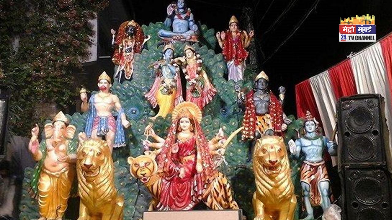 निकुम्हनपुर में महानवमी पर जागरण का हुआ आयोजन