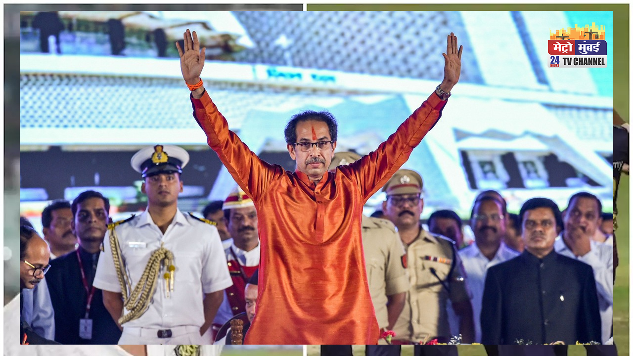 दशहरा मेला में दहाड़े उद्धव ठाकरे, RSS और BJP को जमकर लताड़ा